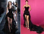 Bella Hadid In Alexandre Vauthier Couture & Nicolas Jebran  - Bvlgari Festa Party