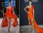 Bella Hadid In Giambattista Valli Couture - Vogue Paris Foundation Dinner