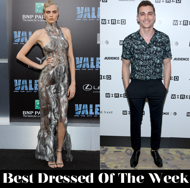 Best Dressed Of The Week - Cara Delevingne In Iris van Herpen Couture & Dave Franco In The Kooples