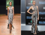 Cara Delevingne In Iris van Herpen Couture - 'Valerian And The City Of A Thousand Planets' LA Premiere