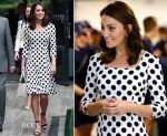 Catherine, Duchess of Cambridge In Dolce & Gabbana - Wimbledon Tennis Championships