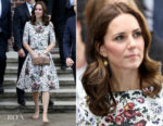 Catherine, Duchess of Cambridge In Erdem - Poland State Visit Day 2