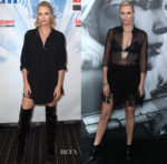 Charlize Theron In Saint Laurent & Christian Dior - SiriusXM From Comic-Con 2017 & 'Atomic Blonde' LA Premiere