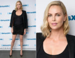 Charlize Theron In Saint Laurent & L'Agence - SiriusXM