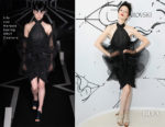 Coco Rocha In Iris van Herpen Couture – Iris Van Herpen X Swarovski Cocktail Party