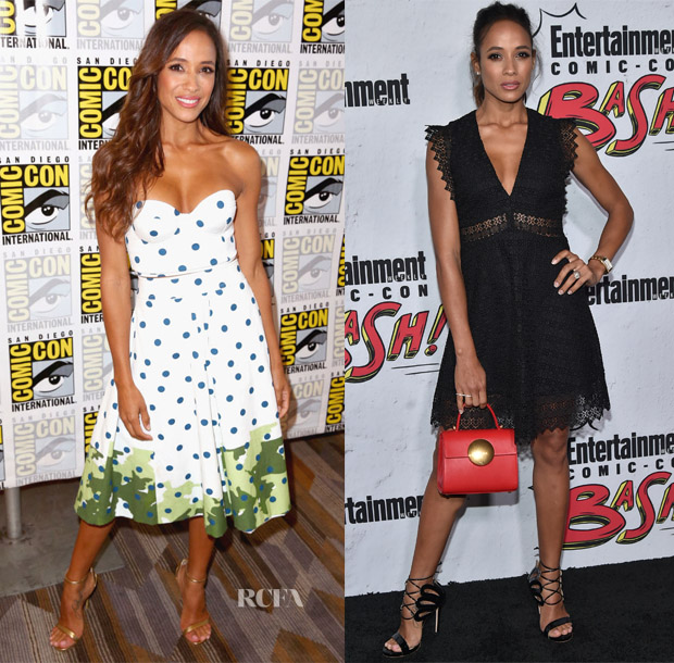 Dania Ramirez In Polite & Sandro - Comic-Con 2017: 'Once Upon A Time' Press Line & Entertainment Weekly Comic-Con Party