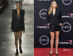 Elizabeth Olsen In Saint Laurent - 2017 ESPYS