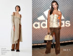 Emily Ratajkowski In Brock Collection - adidas And The Manchester United Squad Present Unmissable