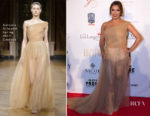 Eva Longoria In Antonio Grimaldi Couture - The Global Gift Gala Marbella