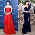 Fan Bingbing In Alberta Ferretti Couture & Zuhair Murad Couture - De Beers Party