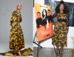 Gabrielle Union In Sophie Theallet - Being Mary Jane LA Press Event