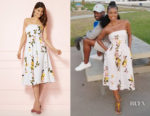Gabrielle Union's New York & Company Del Mar Strapless Dress