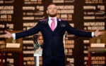 Conor McGregor In David August - Floyd Mayweather Jr. v Conor McGregor World Press Tour
