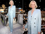Gwendoline Christie In Bella Freud - 'Game of Thrones' Comic-Con 2017 Autograph Signing