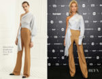 Hailey Baldwin In Jonathan Simkhai - TCA Turner Summer Press Tour 2017