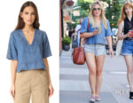 Hilary Duff's A.L.C. Virginia Top