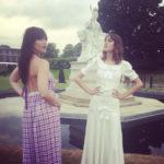 Alexa Chung & Daisy Lowe are Instaglam in Alessandra Rich & Emilio de la Morena