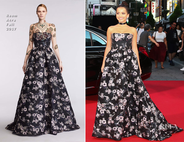 Isabela Moner In Reem Acra - 'Transformers: The Last Knight' Tokyo Premiere