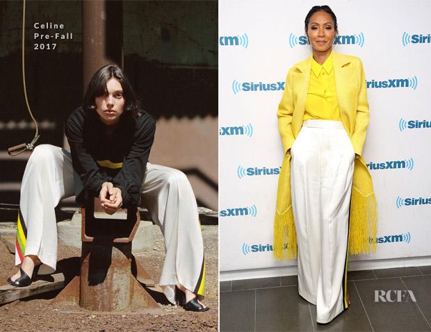 Jada Pinkett Smith In Givenchy, Celine & Maison Rabih Kayrouz - SiriusXM