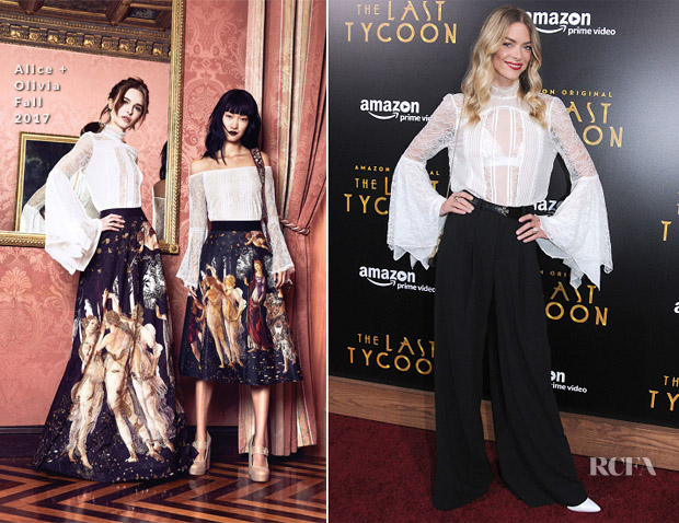 Jaime King In Alice + Olivia - 'The Last Tycoon' LA Premiere