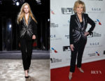 Jane Fonda wears Azzaro Couture to her Tribute ceremony