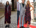 Jennifer Aniston In Proenza Schouler - Jason Bateman's Star On The Hollywood Walk Of Fame Unveiling