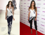 Jordana Brewster In Jonathan Simkhai - The Grand Opening Of The Highlight Room At DREAM