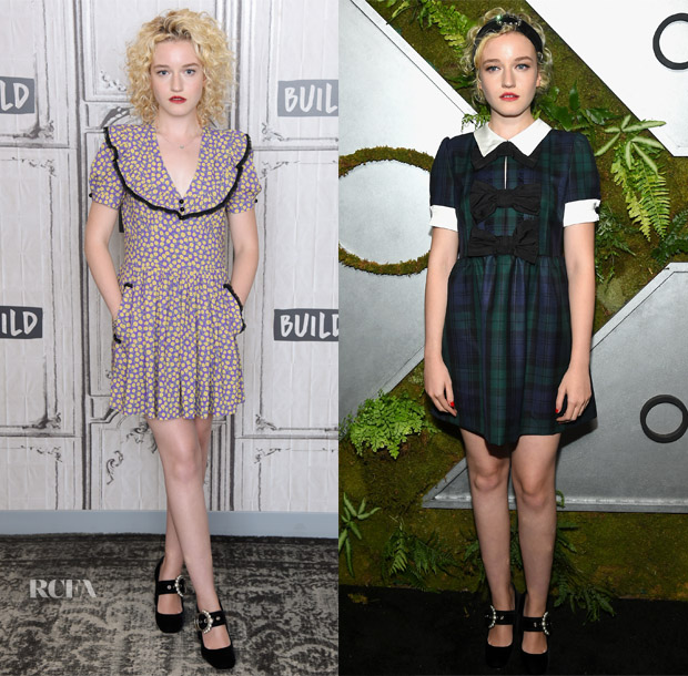 Julia Garner In Miu Miu - AOL Build Series & 'Ozark' New York Screening