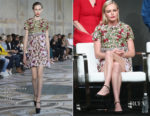 Kate Bosworth In Giambattista Valli Couture - 2017 Summer TCA Tour