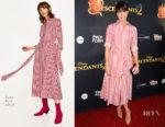 Katie Aselton In Zara - 'Descendants 2' LA Premiere