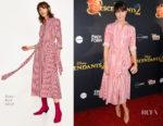 Katie Aselton In Zara - 'Descendants 2' LA Premiere