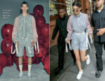 Kendall Jenner shows her stripes in Private Policy
