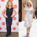 Kyra Sedgwick In Akris - 'Story of a Girl' New York Screening & The View