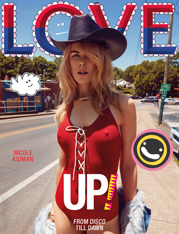 Nicole Kidman Goes Country for LOVE Magazine's Fall 2017 Issue