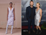 Lara Worthington In Altuzarra - Discovery's 'Manhunt: Unabomber' World Premiere