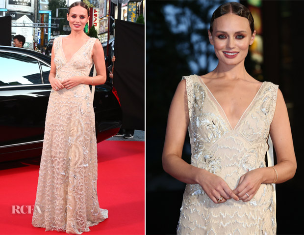 Laura Haddock In Marc Jacobs - 'Transformers: The Last Knight' Tokyo Premiere