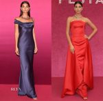 Lily Aldridge In Vintage John Galliano & Zac Posen - Bvlgari Festa Party