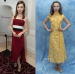 Lily Collins In Christian Siriano & Miu Miu - 'To the Bone' Screening & Press Conference