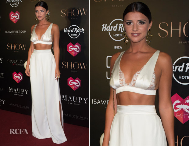 Lucy Mecklenburgh In Jessica Choay - The Global Gift Gala Party