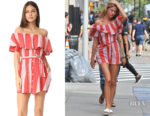 Martha Hunt's FAITHFULL THE BRAND Amalfi Dress