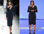 Michelle Obama In Cushnie et Ochs - 2017 ESPYS
