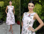 Miranda Kerr In Monique Lhuillier - Sephora SuperFood Event 2017