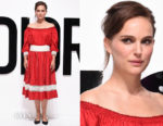 Natalie Portman In Christian Dior - 'Dior For Love' Photocall