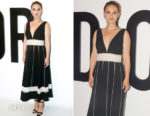 Natalie Portman In Christian Dior - Miss Dior Perfume Party