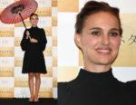 Natalie Portman In Christian Dior - 'Planetarium' Tokyo Premiere
