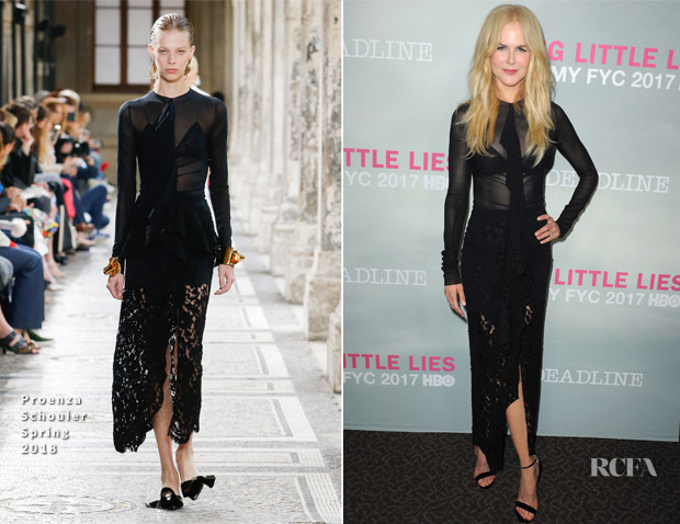 Nicole Kidman In Proenza Schouler - HBO 'Big Little Lies' FYC