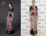 Nieves Alvarez In Temperley London - Porcelanosa Opening