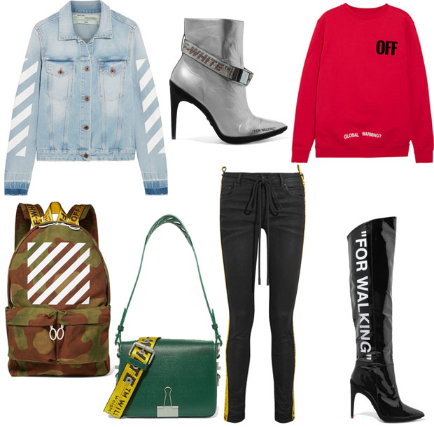 Off-White c/o Virgil Abloh Exclusive to NET-A-PORTER