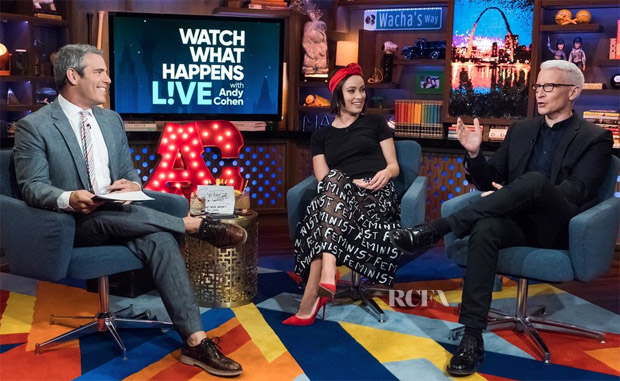 Olivia Wilde In Alice + Olivia - Watch What Happens Live