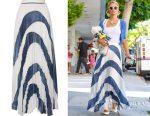 Paris Hilton's Shannon Printed Maxi Skirt